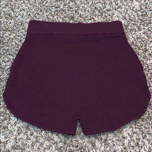 EUC!! White Fox festival shorts size Small.